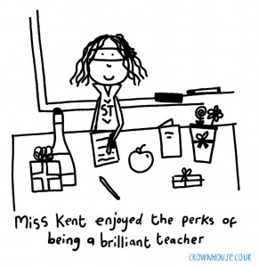 Illustration from The Art of Being a Brilliant Teacher