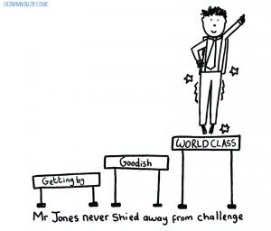 Illustration from The Art of Being a Brilliant Primary Teacher
