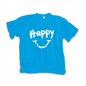 Happy T-Shirt Product branding