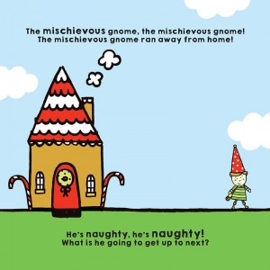 The mischievous gnome Book illustrations